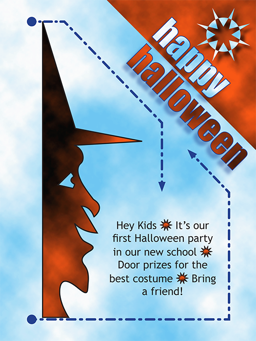 Invitation Halloween is nice invitation template